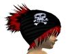Skull Beanie Red Hair