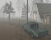 |V| Country Road Foggy