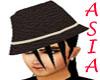 Mocha Hippy Hat/hair [M]