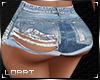 RLL Ripped Jean Shorts