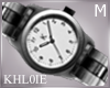 K silv watch M