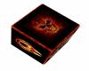 fire skull cube