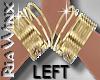 Wx:Gold Bangles LEFT