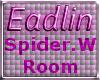 Candy Corn Web Room