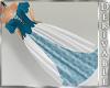 ~D~ Fur Ball Gown Blue
