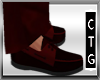 CTG DARK RED DECK SHOES