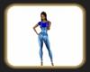sandys denim outfit blue