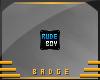 Rude Boy Badge