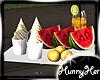 Watermelon and Ice Cream