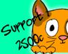 |P| Support - 2500c