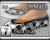 [BE] White Plaid|Flats F