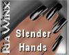 Wx:Slender Jet Black