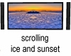 Sunset and Ice Wall TV