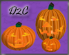 Spooky Jack O Lanterns