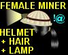 !@ Female miner