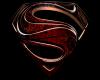 SUPERMAN CAPE BLK