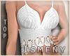 [Is] Crochet Top White