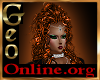 Geo Hallow Doro hair