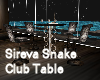 Sireva Snake Club Table