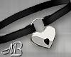 -MB- Locked Heart Black