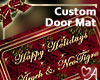 .a Custom Xmas Doormat