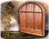 Antique door wood