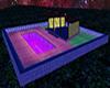 Weird Coloured Pool Room