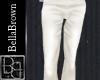 BB White Silk Pants