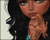Orange | Short Nails