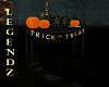 BOO/TRICK or TREAT Table