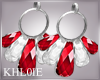 K white red earnings