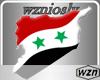 wzn Syria Flag-Map