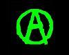 Neon Anarchy Sticker