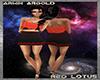 Red Lotus Club Dress