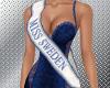 Miss Sweden sash