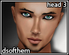 Handsome Male Head 3