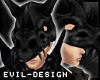 #Evil Black Skel Helm