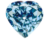 Blue Heart Diamond loose