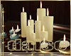 Celestrial Gold Candles