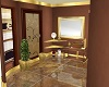 Elegant Gold Bathroom