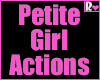 Petite Girl Actions Pack