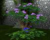 Purple/Blue Flower Tree