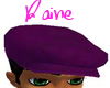 Velvet Grape Newsboy hat