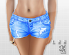 ! Blue Denim Shorts