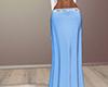 Skirt long blue