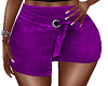FG~ Purple Wrap Skirt
