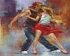 Salsa Dance Art VI