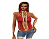 {DLN}Red &amp; Gold Top