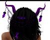 {JD} PURPLE/BLACK HORNS