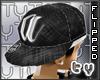 [TY] Tilted A Blk Cap